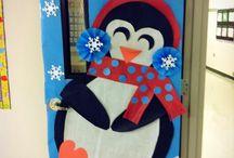 Winter classroom