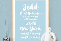 Birth Announcement / Great ideas for that special birth announcement