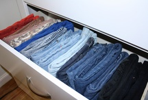 closets/drawers/storage