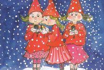 vánoce a zima