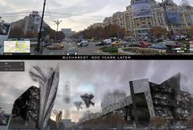 Bucharest-900 years later / Utopic vision of Bucharest future