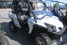 UTVs / Polaris Rangers & RZRs, Kawasaki Mules & Teryxs, Honda Pioneer, Can-Am Maverick & Commander - we stock all the big name Side-by-Sides so that you can compare them easily.