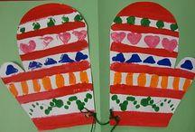 School art projects - winter / by Petra H. L.