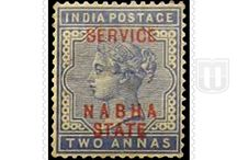 British India - Nabha Official-Convention State / Story of the stamps of Nabha Official