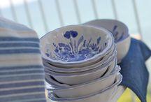 """BLU / """"Emozioni profonde tra il mare e l'atmosfera incantata dei suoi paesaggi"""" Il BLU è il colore della calma e della tranquillità, della tenerezza , da oltre 150 anni è il colore per eccellenza di   Blu Bontempo ceramiche 1862"""