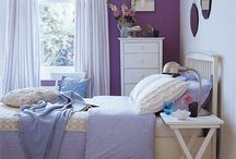 Purple Rooms / Purple is timeless with little girls.  It is so easy to mix and match the hues of purple.  / by skip to my room