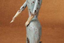 Tin Toys & Art dolls