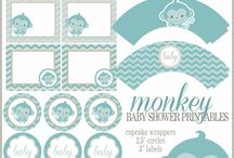 Imprimibles para baby shower