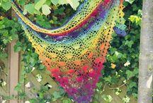szydełko - chusty, szale, kominy / crochet - shawls, scarves, cowls