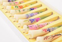 """Japanese Candles-Warosoku / Japanese Candles is one of the popular interior in Japan as the """"light of Japanese"""". Japanese Candles are handmade one by one and hand drawn by professional craftsmen!"""