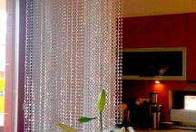 Swarovski Crystal Curtains - kristály függöny készítése / Kristály függöny készítése, akár Swarovski kristályból is