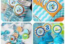 Kids Birthday Ideas / Under water birthday theme