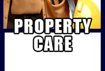 PROPERTY CARE / HANDYMAN SERVICES PROPERTY CLEAN OUT PAINTING / STAINING GUTTER CLEANING