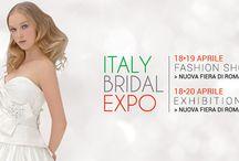 Italy Bridal Expo 2015 dal 18 al 20 Aprile a Nuova Fiera di Roma / Italy Bridal Expo 2015 dal 18 al 20 Aprile a Nuova Fiera di Roma e annuncia una grande novità per il Fashion Bridal Show.