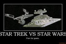 Star Wars & Star Trek / All things Star Trek and Star Wars / by Sara Seaweed