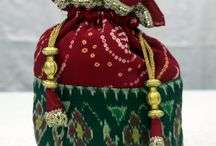 Bandhani Accessories / Traditional Bandhani art accessories. Made from pure tie and dye bandhani method. Handicraft Bandhani items.