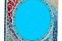 Oglinda mozaic