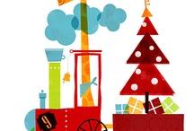 DRAW: Christmas illustrations