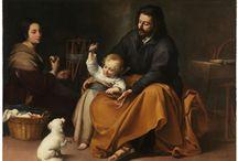 Velásquez, Murillo, Ribera, y la pintura barroca