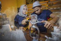 Barista Coffee Shop Couple 3