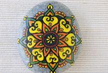 kamienie malowanie