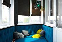 кровать на балконе для Авенира и Авдия