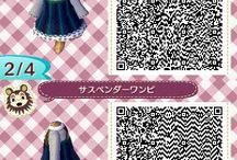 ACNL qr dress