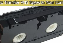 transfer vhs tape to computer