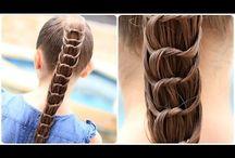 Fläta Lie hår