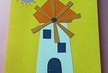 καλοκαίρι- summer crafts