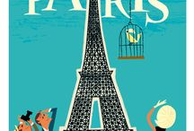 Modern Travel Posters