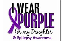 Epilepsy awareness / by Raelyn Remick Goodrich