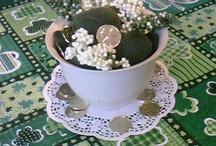 St. Patrick's Day crafts/decor