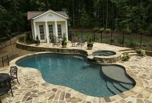 Pool Decks / A stunning pool deck is part of your complete outdoor experience when enjoying your pool with family and friends.