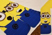 kinderen  / Minion sjaal