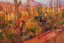Terra cotta cacti