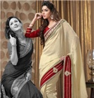 Fashionable Embroidered Sarees / If you are a lover of elegant embroidered sarees collection, then you are at the right destination....Have a look at our hottest embroidered sarees collection with trendy colors & fancy borders....LIKE US & get 10% discount on all items......Order it online from http://www.sareesbazaar.com/search.aspx?q=SB37_