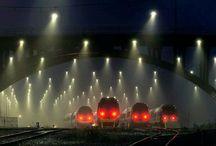 Train, Railway, Railway Stations