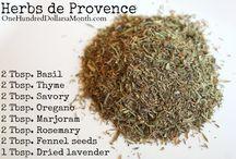Herbs & Spices & Rubs