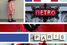 France SS16 - Moodboard / France - Planche de tendances - Moodboard - Inspirations