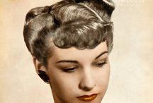 1940-1949 Make Up, Fashion, Beauty