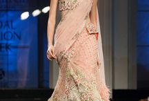 Indian Bridal Fashion / Indian wedding outfits from the runway and beyond with couture designers and up and coming artists