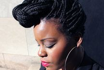 Protective Styles / Braids, Twists, Locs & Protective Style Inspiration