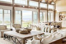 Farmhouse Retreat / Relax, breathe in the clean air, and spend time to enjoy our cool, modern take on rustic country charm. Inside this inviting look, natural wood tones, soft materials, and a honeyed palette warm modern silhouettes and metal accent pieces. A style perfect for the family, this homey look offers sophistication and grace with no loss of comfort or repose.