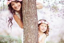 Фотографии мамы и дочки