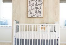 n u r s e r y / inspiration for baby boy Izzo's new digs!