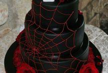 Cake Black spiderman