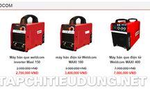 Máy hàn điện tử Weldcom, Hàn que, TIG, MIG, CO2 / Giá máy hàn điện tử Weldcom, Hàn inox, Co2, Hàn TIG, Hàn MIG