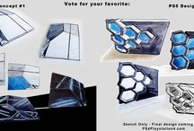 PS5 Concepts - PlayStation 5 / Images of PlayStation 5 design concepts. / by PS4 Experts