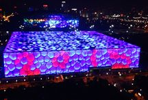 Olympic Games building in Beijing #beijing. / Olympic Games building in Beijing #beijing.